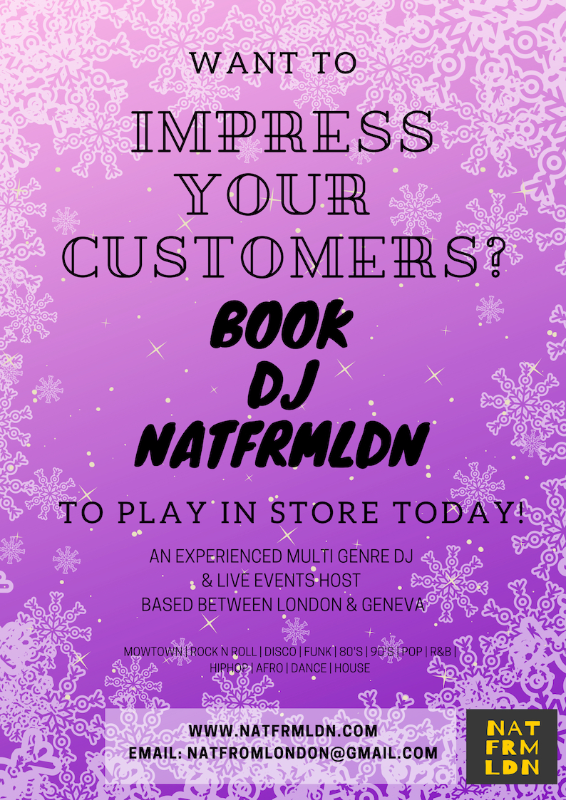 BOOK DJ NATFRMLDN TO PLAY AT YOUR STORE
